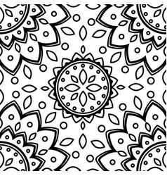 Pattern flower texture seamless background vector