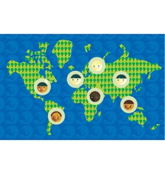 world culture vector image
