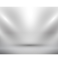 blank light room white vector image vector image