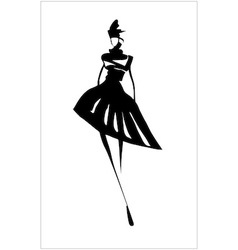 fashion15 vector image