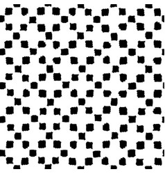 Hand drawn paint squares background vector