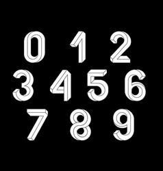 Impossible geometry numbers vector