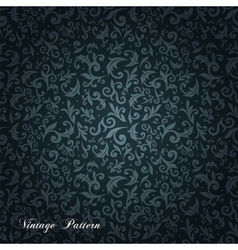 Ornate floral seamless texture vector image