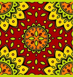 Pattern flower texture seamless background vector