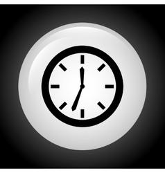 time button design vector image