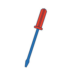 Tool screwdriver construction repair object vector