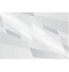 white and gray color abstract geometric vector image