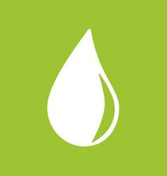 a drop icon vector image