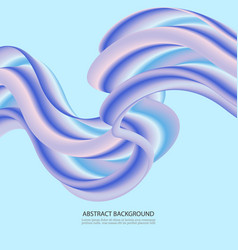 abstract flow background wave fluid shapes in vector image