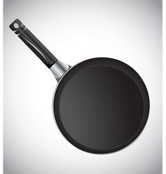 Cooking pan vector