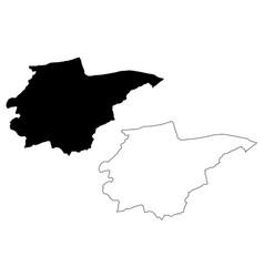 Duzce map vector