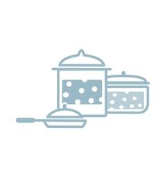 Set of kitchen tools vector image