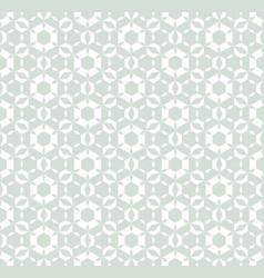 Subtle geometric retro vintage seamless pattern vector