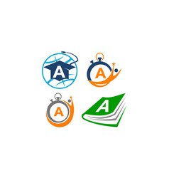 Symbol a template set vector