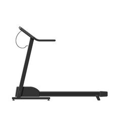 treadmill isolated on white vector image
