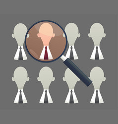 human resources - personnel audit and assessment vector image