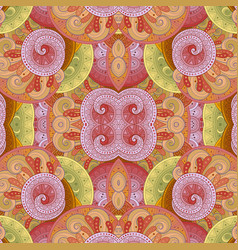 Seamless abstract tribal pattern vector