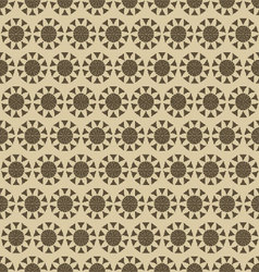 flowers-pattern-retro-seamless-01 vector image