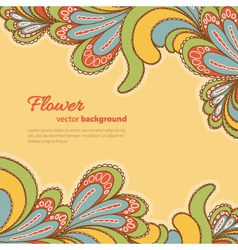 abstract background bright pattern vector image