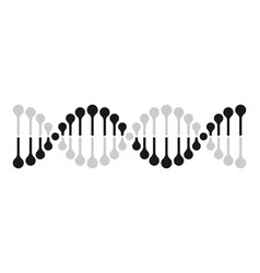 Dna icon chromosome genetics gene helix vector