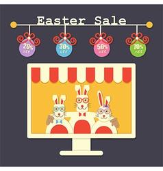 Easter sale vector