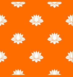 Lotus pattern seamless vector