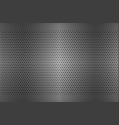 perforated metal texture aluminium grating vector image