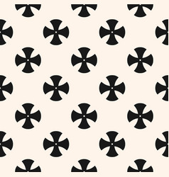 simple floral pattern minimalist seamless texture vector image