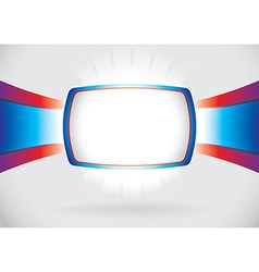 Abstract screen frame vector image
