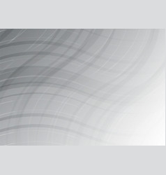 wave white and gray color abstract geometric for vector image