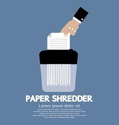 Paper shredder machine vector
