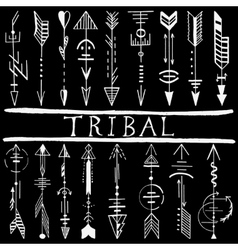 Tribal Hand Drawn arrow vector image vector image