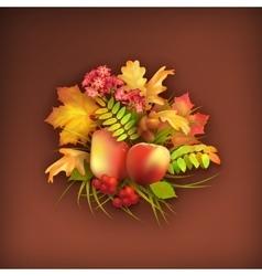 Autumn Harvest Background vector