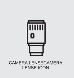 Camera lensecamera lense icon vector