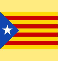 Catalonia estelada vector