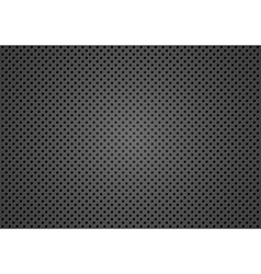 Dotted metallic texture vector