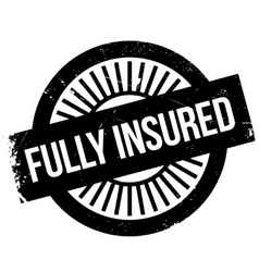 Fully insured stamp vector