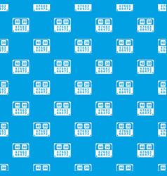 Match score board pattern seamless blue vector