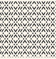 Modern geometric seamless pattern with zigzag vector