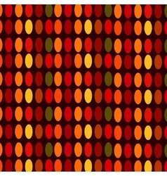 Ovals colorful abstract background vector