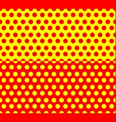 Repeatable horizontal halftone backgrounds vector