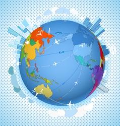Scheme on the Earth vector