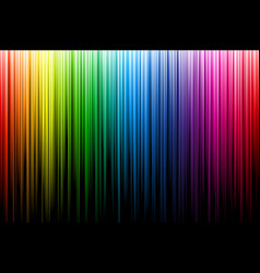 bright multicolor rays abstract vector image vector image