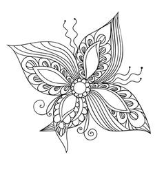 Fantasie Flower vector image
