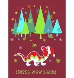 dragon new year vector image vector image