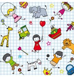 background children vector image vector image