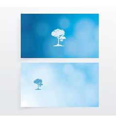 Business Card Set vector