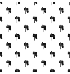 Inbox pattern simple style vector