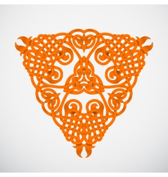 orange native ornament vector image