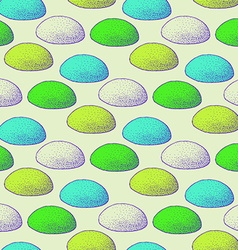 Sketch abstract rocks pattern vector image